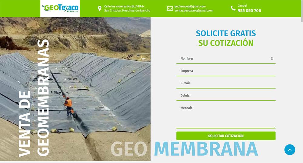 geotexaco - Inicio